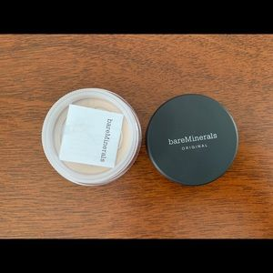 Never opened Bare Minerals powder foundation, Fair
